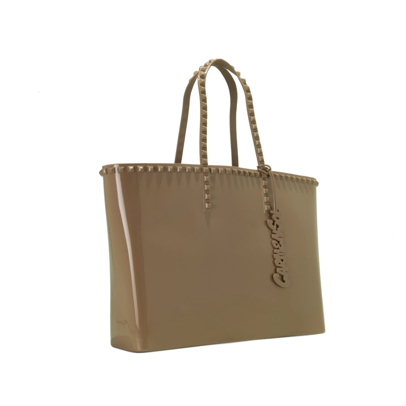 'Angelica' Large Tote in Brown