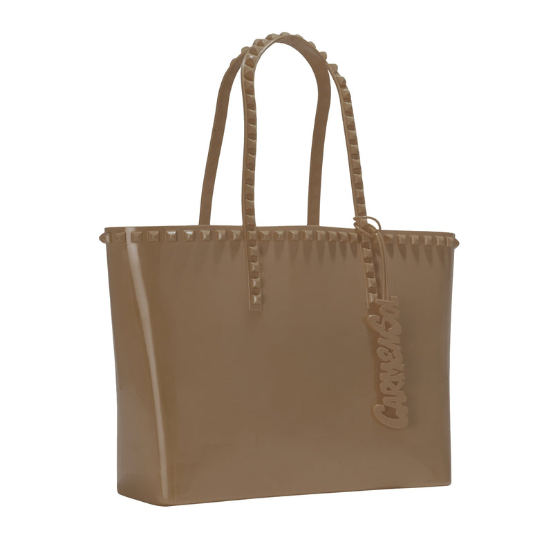 'Seba' Mid Tote in Brown