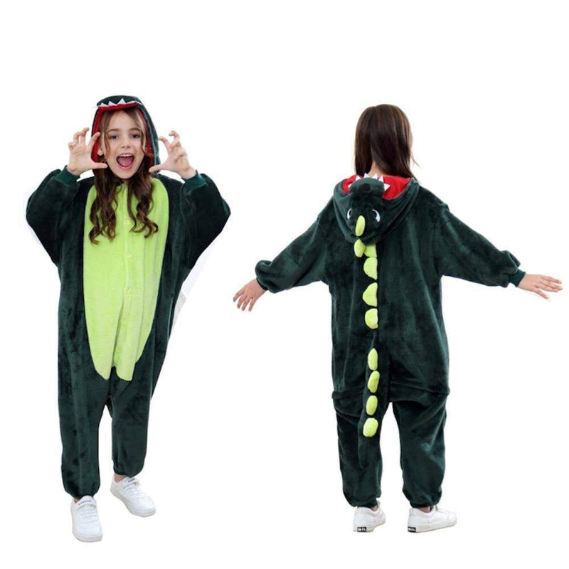 Kids Unisex Animal Onesies - Dinosaur 3-5 Years