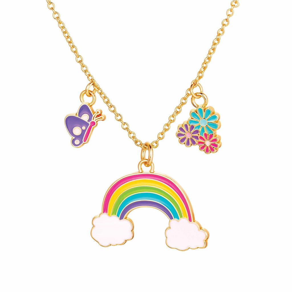 Charming Whimsy Necklace- Cloud Luvs Rainbow