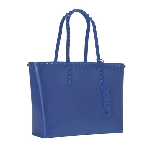 'Seba' Mid Tote in Dark Blue - ANTHILL shopNplay