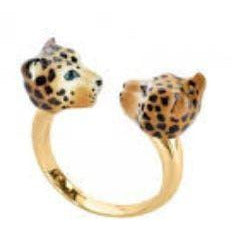 Face to Face Ring Leopard