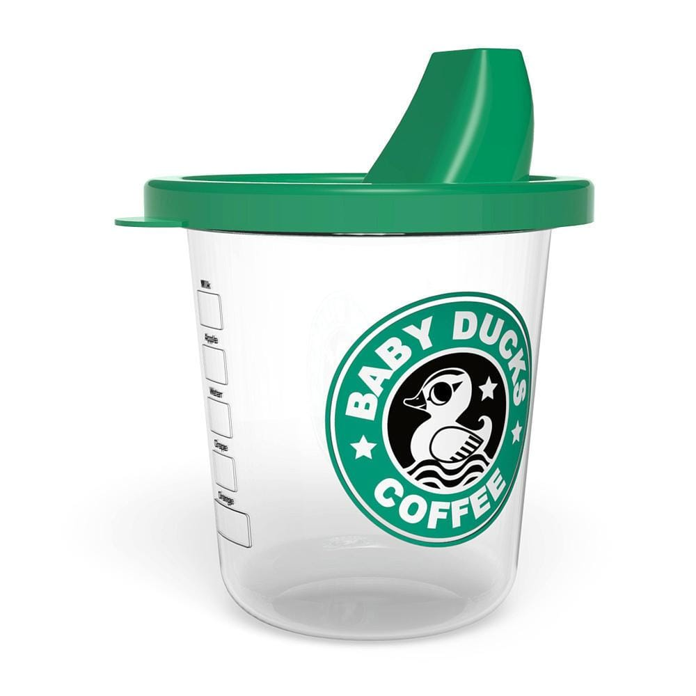 Babychino Sippy Cup - Baby Ducks Coffee - ANTHILL shopNplay