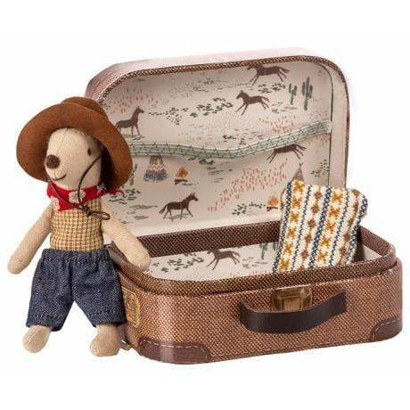 Cowboy In Suitcase Little Brother Mouse - ANTHILL shopNplay