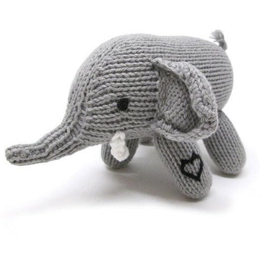 Organic Rattle Elephant - ANTHILL shopNplay