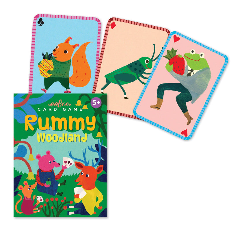 Woodland Rummy Card Game