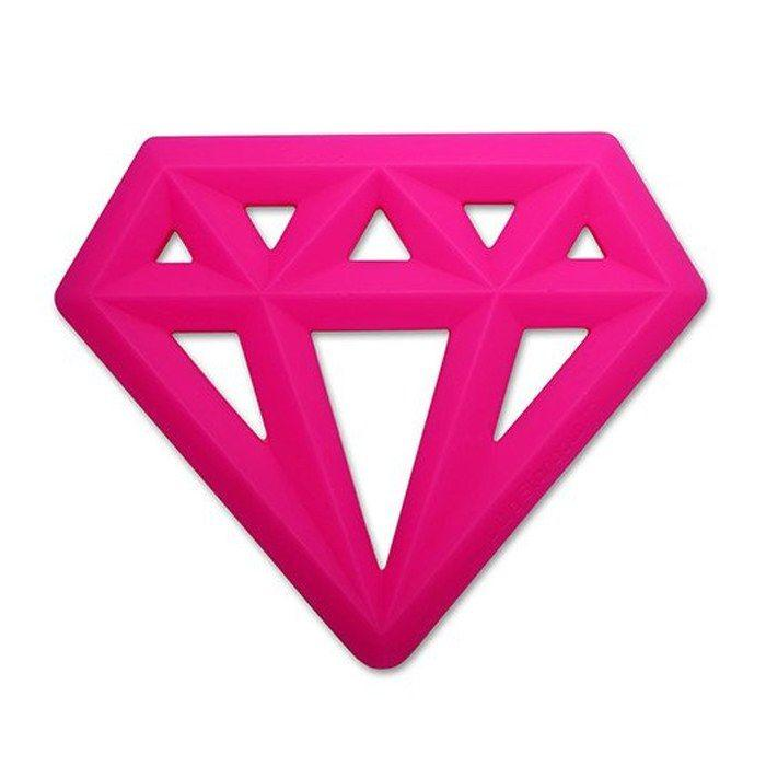 WS Diamond  100% Silicone Teether