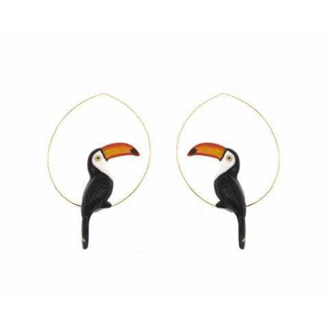 Nach Toucan Earrings