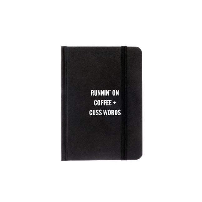 """Runnin' On Coffee"" Notebook"
