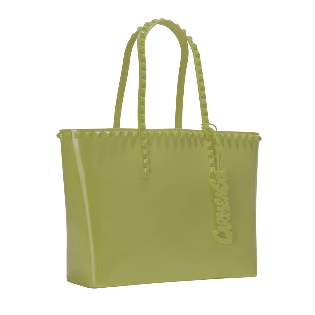 'Seba' Mid Tote in Olive Green - ANTHILL shopNplay