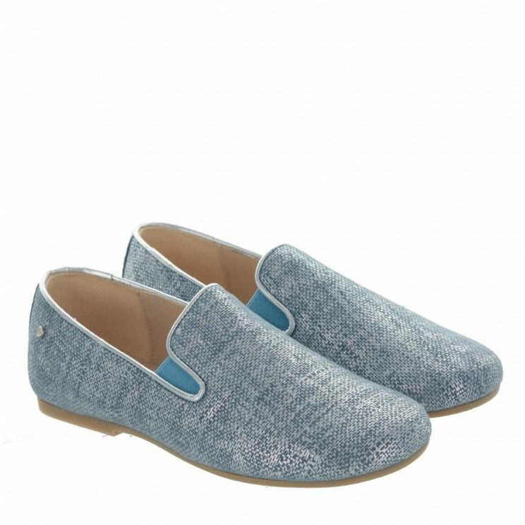 Slip-On Benji Blue Fantasy Suede