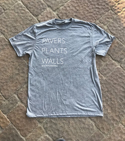 Pavers Plants Walls