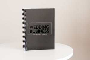 Wedding Business - 12 Month Wedding Planner