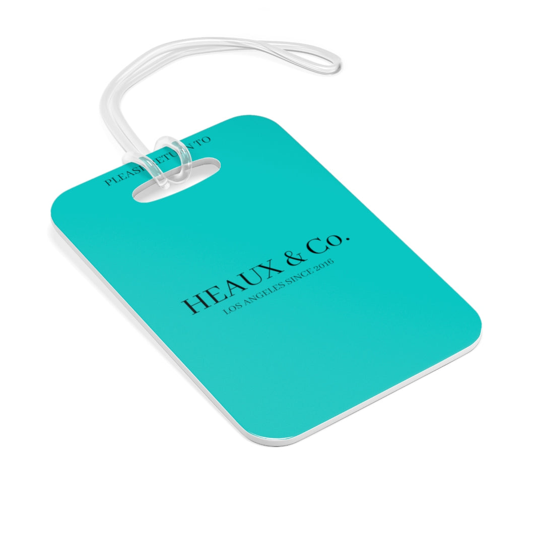 Heaux & Co. Bag Tag