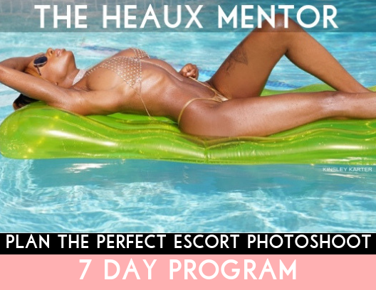 Plan The Perfect Escort Photoshoot : 7 Day Program