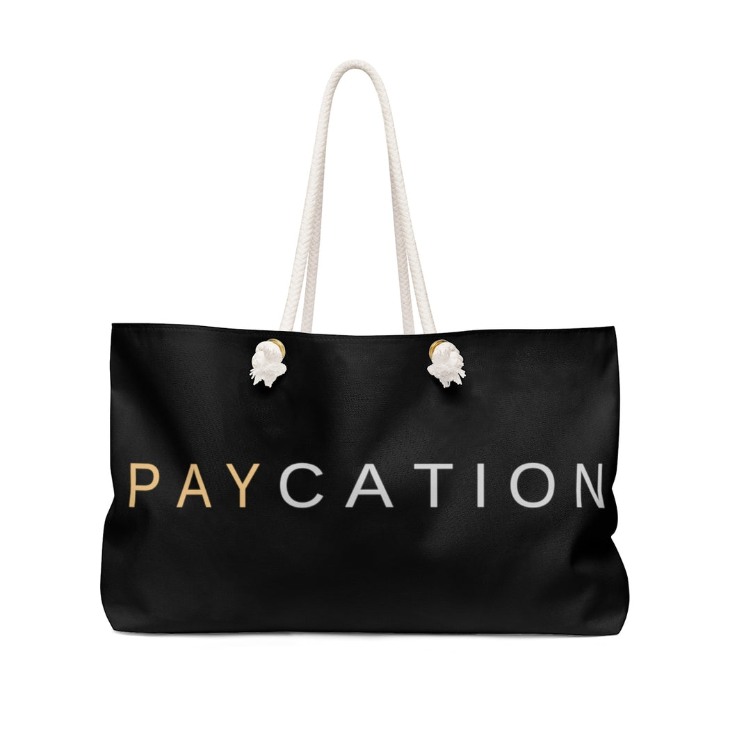 Paycation Beach Bag