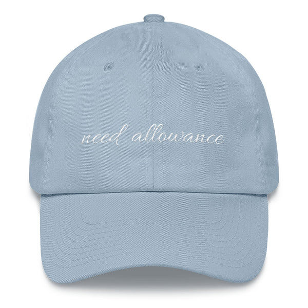 Need Allowance Hat