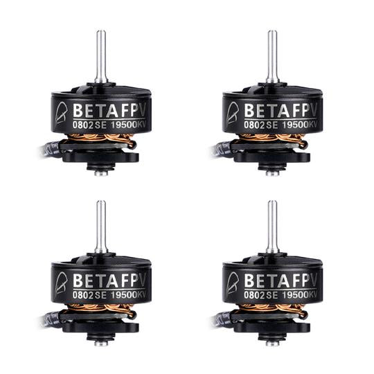 BetaFPV 0802SE / 19500KV / 3-Hole / 1S Brushless Motors (Set of 4) | RC-N-Go