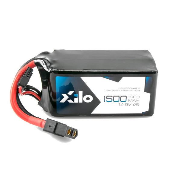 XILO 4S / 1500mAh / 100C / 14.8V LiPo Battery with XT60 Connector | RC-N-Go