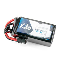 XILO 5S / 1500mAh / 100C / 18.5V LiPo Battery with XT60 Connector | RC-N-Go