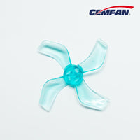 Gemfan 1636 4-Blade Propellers (40mm / 1.5mm Shaft / 2 Sets / Blue) | RC-N-Go