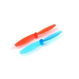 HappyModel 65mm 2-Blade Propellers (1.5mm Shaft / 3 Sets / Red or Blue) | RC-N-Go