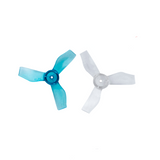 Gemfan 31mm 3-Blade Whoop Propellers (1.0mm Shaft / White or Clear Blue) | RC-N-Go