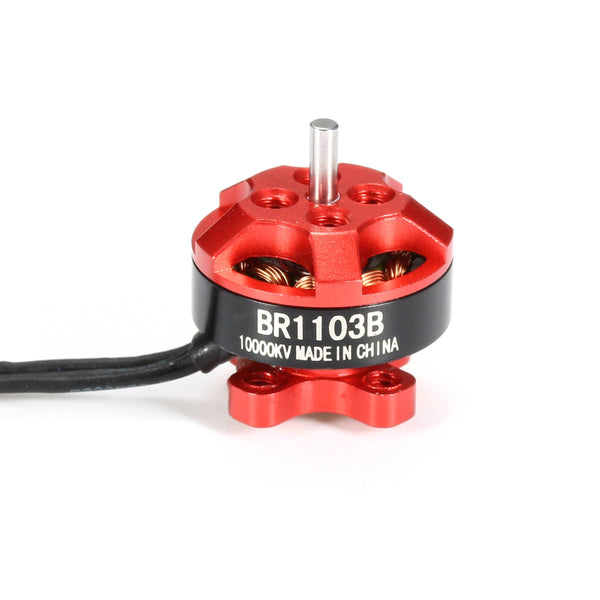 Racerstar 1103B / 10000KV 1-2S Brushless Motor (Red) | RC-N-Go