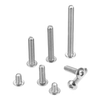M3 Round Head Hex Screws (Stainless Steel / Multiple Sizes & Quantities) | RC-N-Go