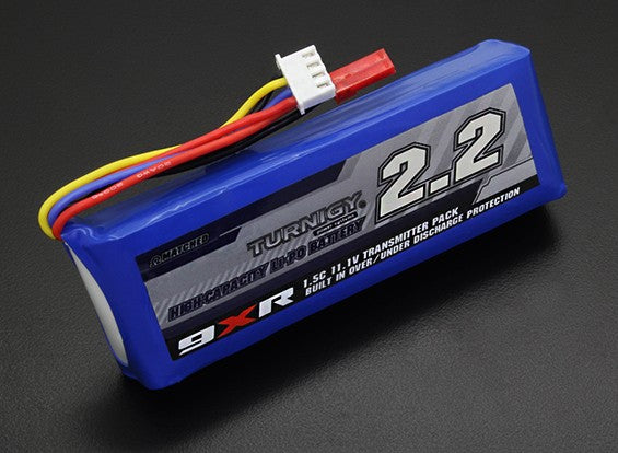 Turnigy 3S 2200mAh / 1.5C TX LiPo Battery