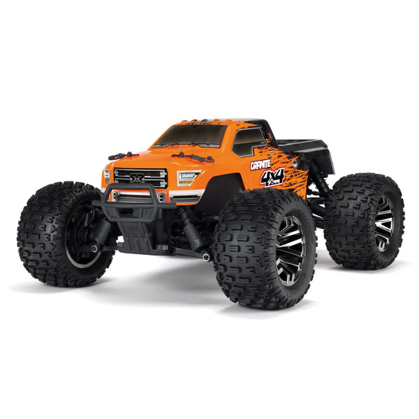 ARRMA 1/10 Granite 4x4 3S BLX 4WD Monster Truck (Brushless / Orange / ARR) | RC-N-Go