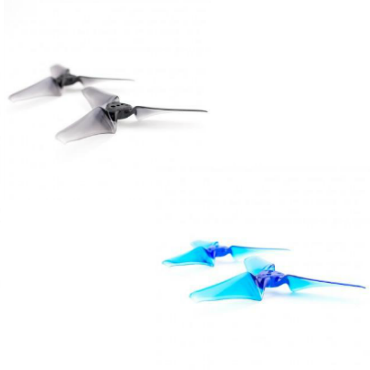 Emax Avan 3x2.4 Tri-Blade Propellers (1 Set / Translucent Blue or Black)