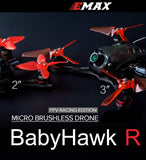 "Emax BabyHawk Race (R) Edition 2"" FPV Brushless Drone (BNF / FrSky or PNP / No Receiver) 