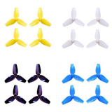 BetaFPV 40mm 3-Blade Propellers for Brushed Motors (1mm Shaft / Multiple Colors) | RC-N-Go