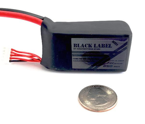 IQ Black Label Mini 4S 850 mAh / True 70C LiPo Battery