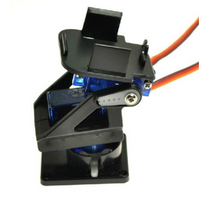 Adjustable Pan/Tilt Camera Mount with Two Servos | RC-N-Go