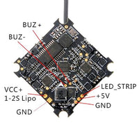 HappyModel CrazyBee F4 Pro V1.0 Brushless Flight Controller (1-2S / FrSky or No-RX) | RC-N-Go