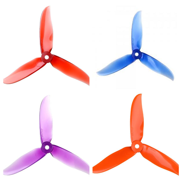 "Dalprop T5046C Cyclone 5"" Tri-Blade Propellers (Multiple Colors) 