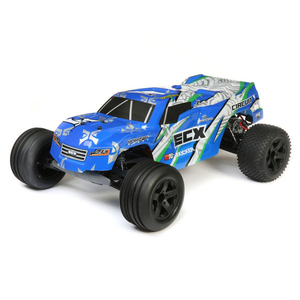 ECX 1/10 Circuit 2WD Stadium Truck Brushed (RTR) - RC-N-Go