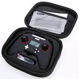 FrSky Taranis X-Lite Radio Controller (Black & Silver with Red Gimbal Accents)