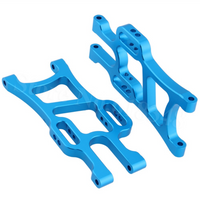 Aluminum Lower Arms for RC Truck (1 Pair / Front or Rear / Blue) | RC-N-Go