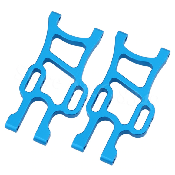 Aluminum Front and Rear Lower Arms for RC Truck (1 Pair / Front or Rear / Blue) | RC-N-Go