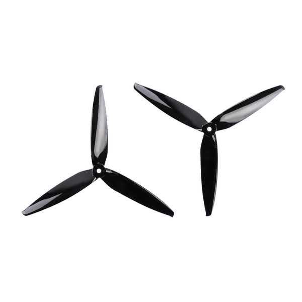 GemFan Flash Props 7040 3-Blade Propellers (Black) | RC-N-Go