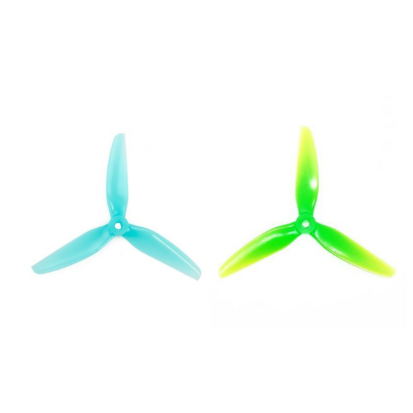 HQProp DP 5.1X4.1 3-Blade Propellers (POPO / Multiple Colors) | RC-N-Go