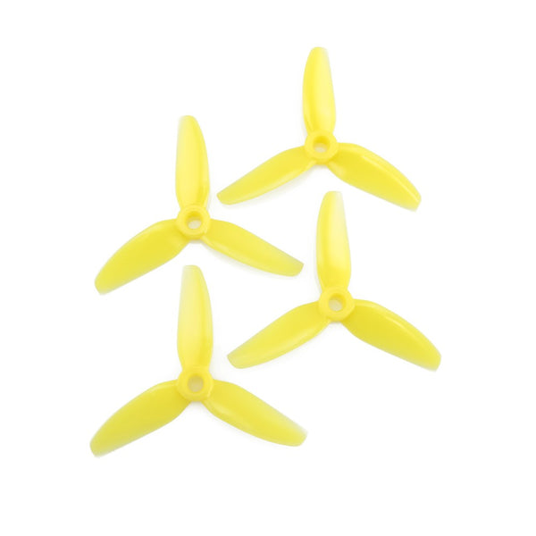 HQProp DP 3x4 3-Blade Propellers (Yellow) | RC-N-Go