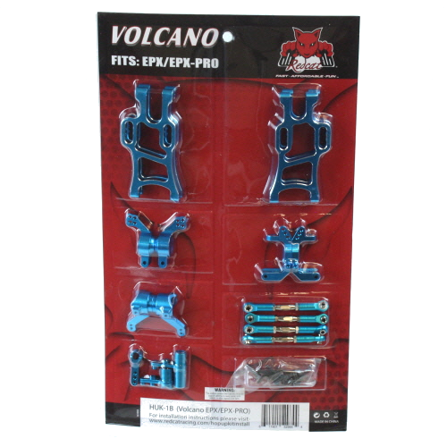 RedCat Volcano EPX Hop Up Kit (Blue) | RC-N-Go