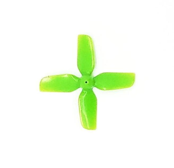 HQProp Micro 1.2X1.2 4-Blade Propellers (31mm / 0.8mm shaft / Green) | RC-N-Go