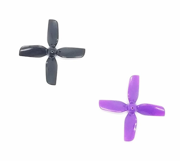 HQProp Micro 1.2X1.3 4-Blade Propellers (31mm / 1mm Shaft / Multiple Colors) | RC-N-Go