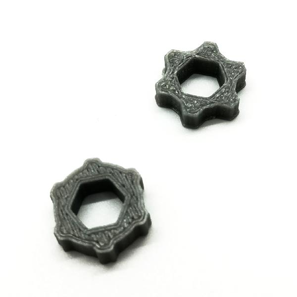 SMA Antenna Nut Adapter 3D Printed TPU / 2pcs