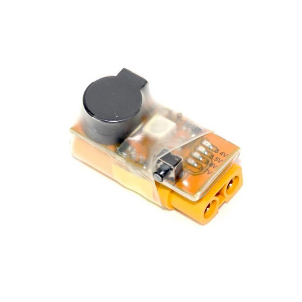 In-Line Voltage Alarm with LED ( XT60 / 2-6S ) | RC-N-Go